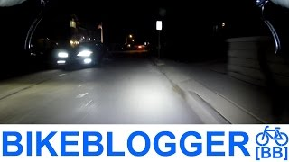 Do You Live In A Ghost Town? Night Commute By Bike Blogger