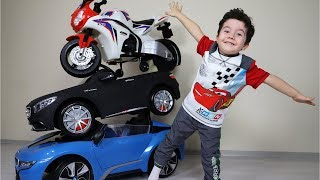 Sihirli Akülü Arabalar Kulesi | Magic transformation of toy cars-Funny Kids Video