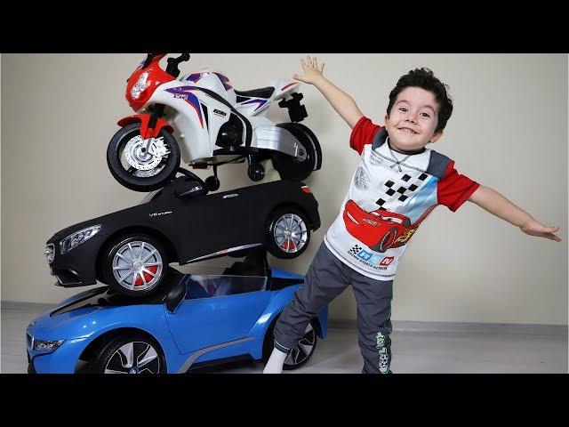 Sihirli Akülü Arabalar Kulesi | Magic transformation of toy cars-Funny Kids Video