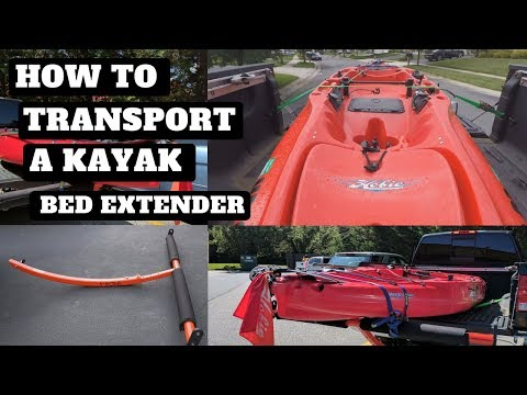 transporting-a-kayak-with-a-boonedox-t-bone-bed-extender