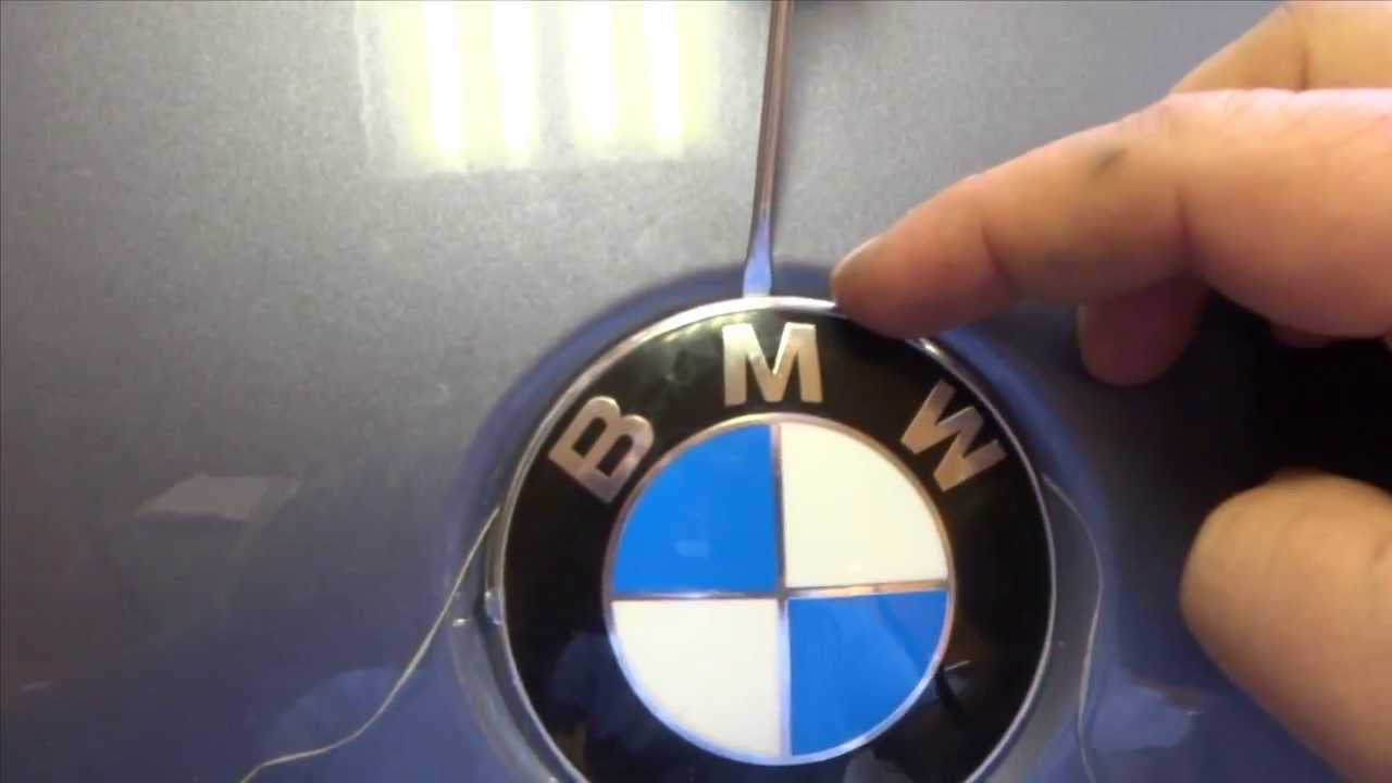 Diy Bmw Badge Removal Youtube