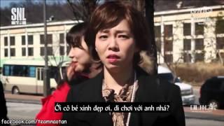 Vietsub- SNL Korea  Hài bựa Cô Gái Hàn Quốc  - Nam Goong Min