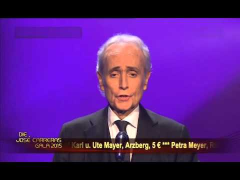 Jose Carreras - Tristesse (Sadness) 2015