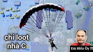 PUBG Mobile - Chỉ Loot Nhà C Trong Quân Sự Lấy Top 1 | Bị Team Cuối Dụ Bé Na Cực IQ :(