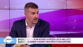 A DK kitart a közös lista mellett, a Jobbik viszont nem kér Gyurcsányból
