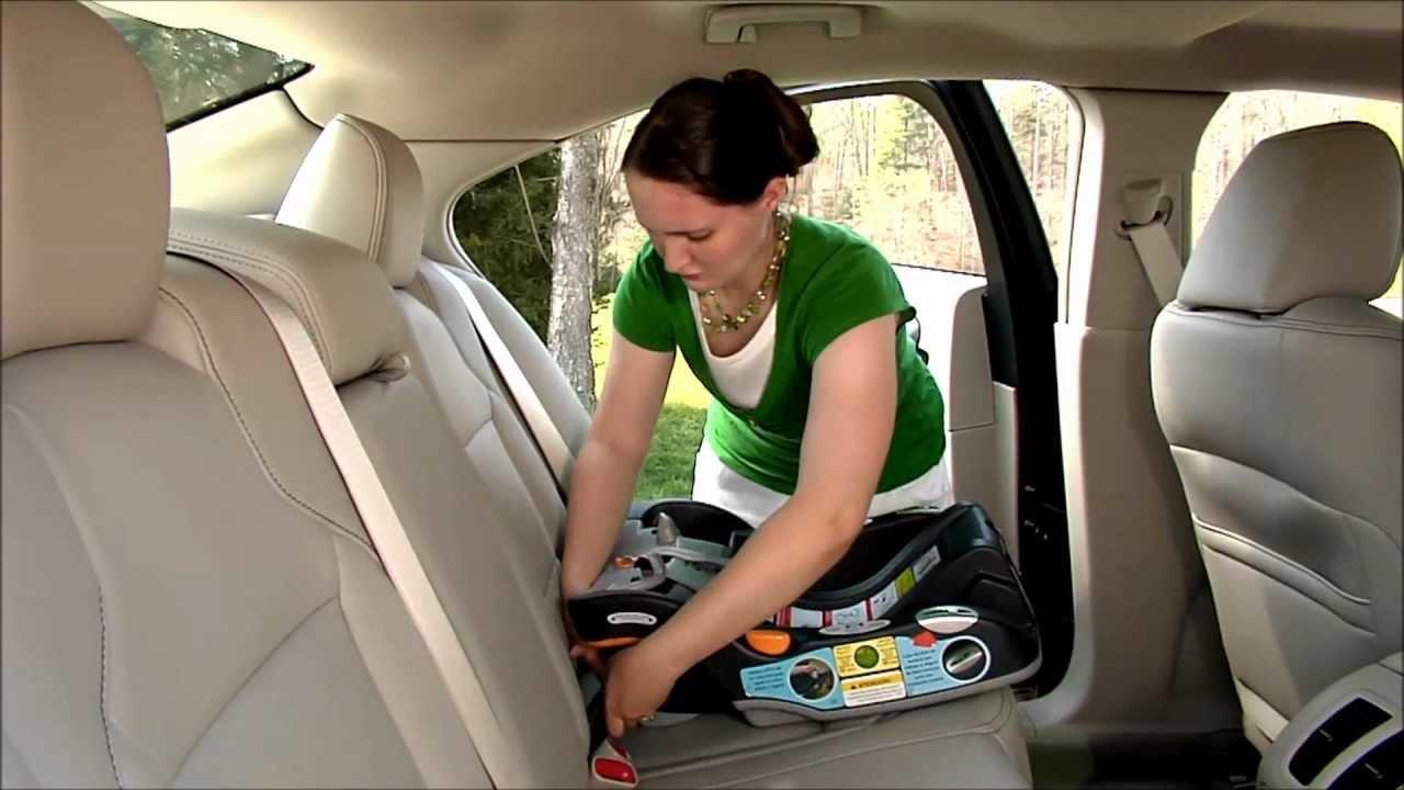 Installing Car Seats - YouTube