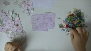 Scrap Kit Club: Пошаговый процесс создания доски для расписание уроков/moodboard