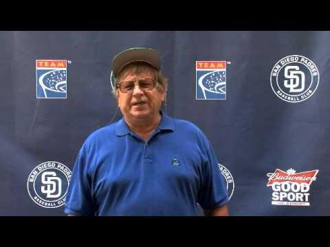 2012 San Diego Padres Fan PSA