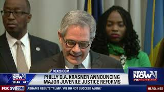 Philly D.A. Krasner Talks Juvenile Justice Reform Policies