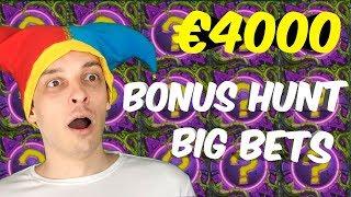 BIG BETS Bonus hunt result! Big Win Bonuses!