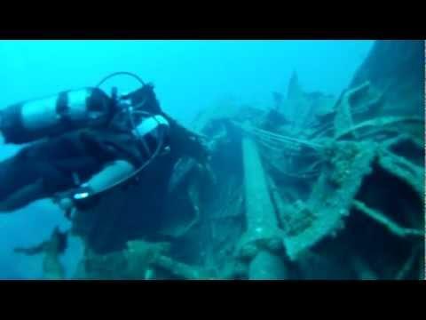 Extreme Divers 20/11/11 Kyra Leni shipwreck (part 1)