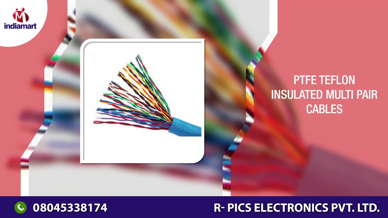Manufacturer of PTFE Teflon Insulated Wires - YouTube