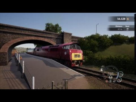Train Sim World - Class 52 Introduction on the West Somerset Railway |