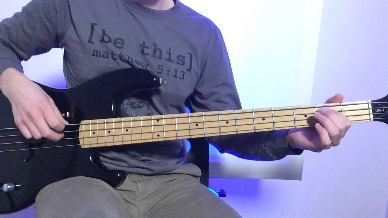 Jesus Paid It All Bass Guitar Youtube