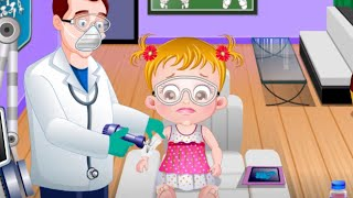 Repeat youtube video Baby Hazel Hand Fracture - Baby Hazel Games To Play - yourchannelkids