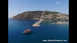 Alanya Catamaran - Daily trip summary