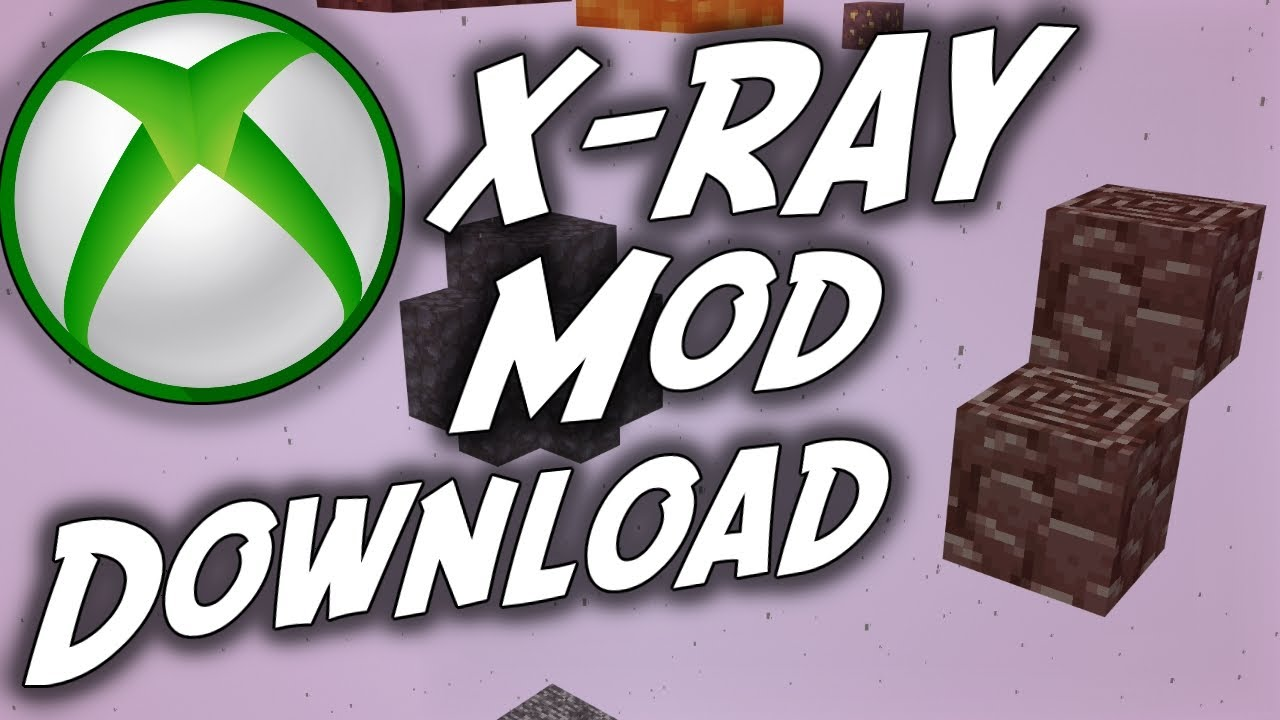 How to Download X Ray ore MOD on Minecraft XboxOne Tutorial
