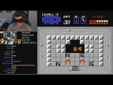 The Legend of Zelda (NES) Blindfolded Challenge - Complete! - Part 2/2