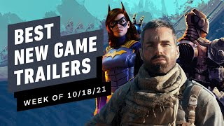 Best New Game Trailers (Week of 10/18/21)