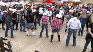 Push For The Stride, Line dance