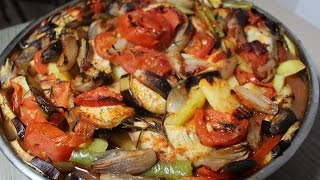Tavuklu tepsi kebabi Tarifi | Et ve Tavuk Yemekleri