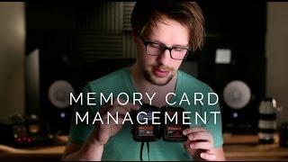 Professional Photography Tips | Memory Card Management