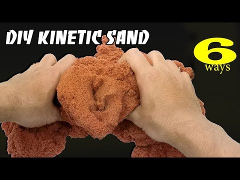 6 Easy DIY Kinetic Sand Ideas to Make Your Kids