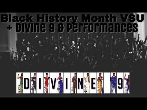 COLLEGE VLOG: VSU Black History Month + Greek life | Kiara Unique