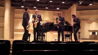 Alexander Glazunov - Saxophone Quartet, Op. 109 - II: Theme, Variation IV, Variation V