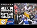 Steelers Vs. Bills | Nfl Week 14 Game Highlights video