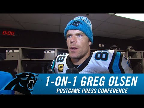 Greg Olsen: We came to life in the fourth quarter