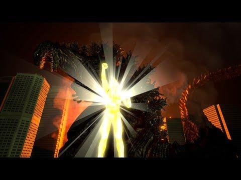 [SFM] Shin Godzilla vs Ultraman Tiga: Take Me Higher Part 2