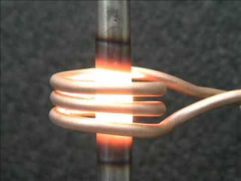 Induction Heating Quick Demonstration Youtube