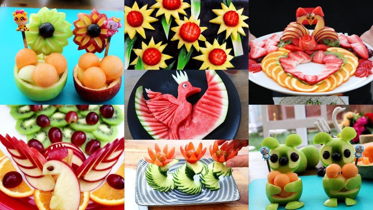 10種超级水果装饰的想法l智能水果盘装饰