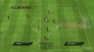 FIFA Soccer 10 PlayStation 3 Gameplay Madrid vs Liverpool