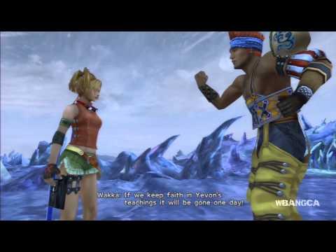 Final Fantasy X | HD - Wakka Reaction to Rikku Al Bhed Scene [Remaster]