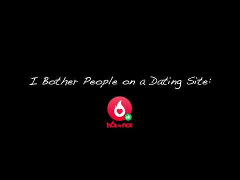 Adventures On Dating Sites - HotOrNot