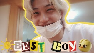 things about stray kids' sunshine, lee felix