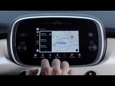 Fiat 500X with Apple CarPlay - Fiat
