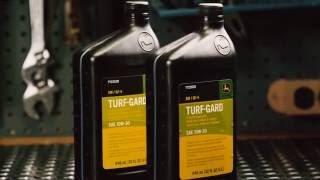 How To Change Oil & Oil Filter | John Deere ZTrak Zero Turn Mower Maintenance