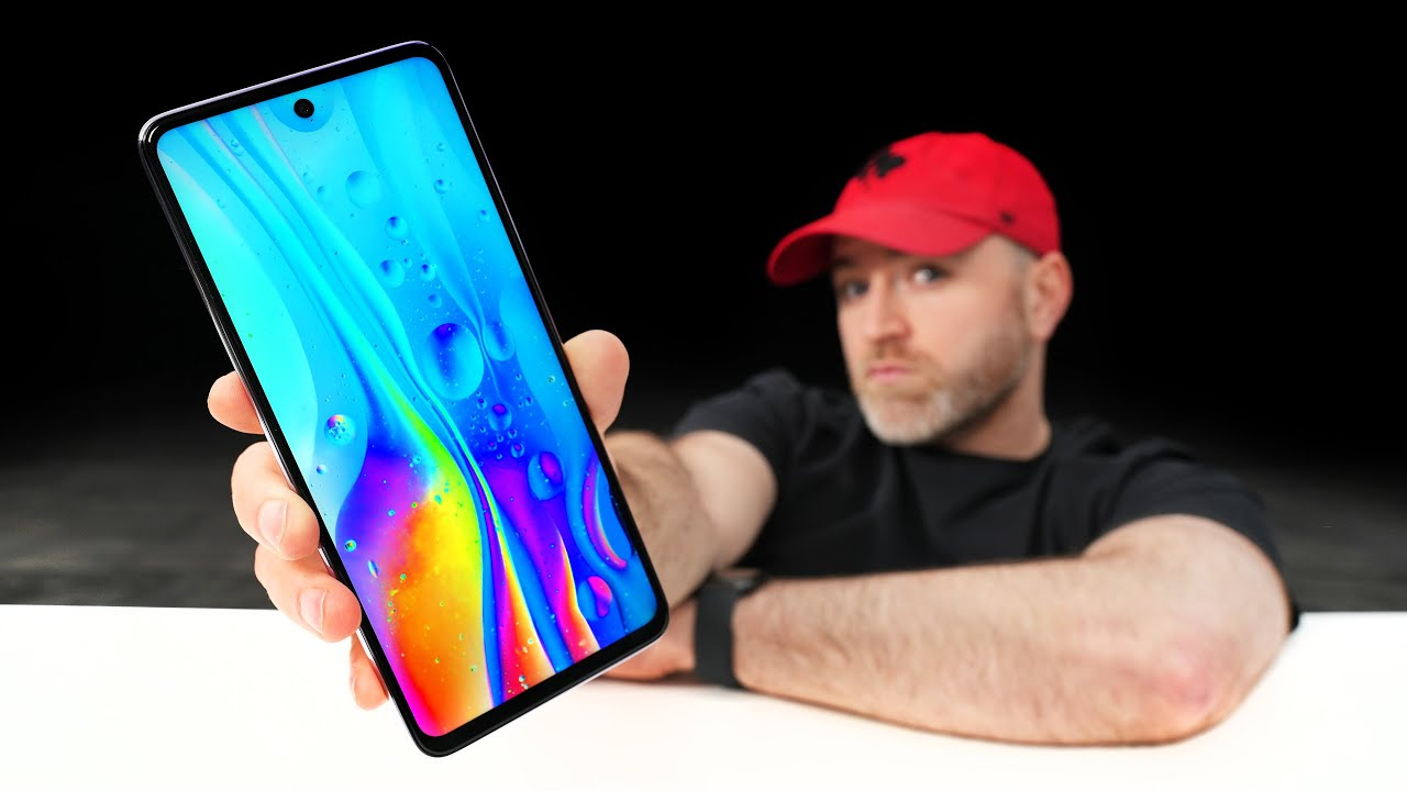 This New Smartphone Packs a MONSTER Display...