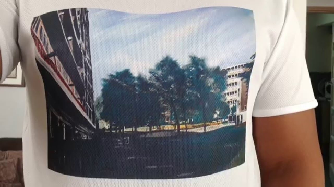 Simple sublimation t shirts youtube for T shirt printing for non profit organizations