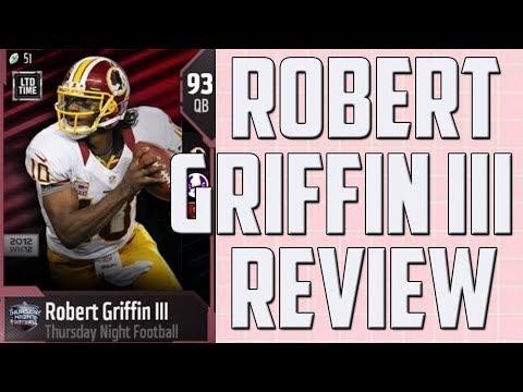 How Good is 93 Overall Robert Griffin III? MUT 18 Player Review