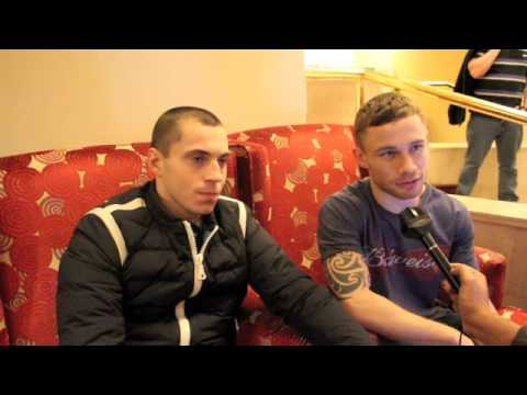 SCOTT QUIGG & CARL FRAMPTON SIDE BY SIDE (EXCLUSIVE INTERVIEW) FOR iFILM LONDON.