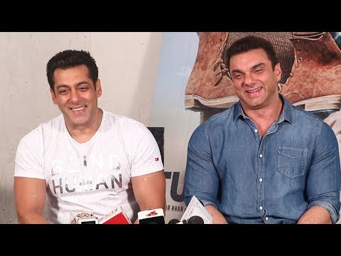 Salman Khan And Sohil Khan FUNNY Interview For TUBELIGHT