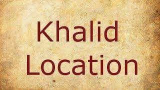 Khalid - Location / Lyrics