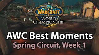 AWC Circuit Week1 Best Moments | Tips and Tricks | World of Warcraft