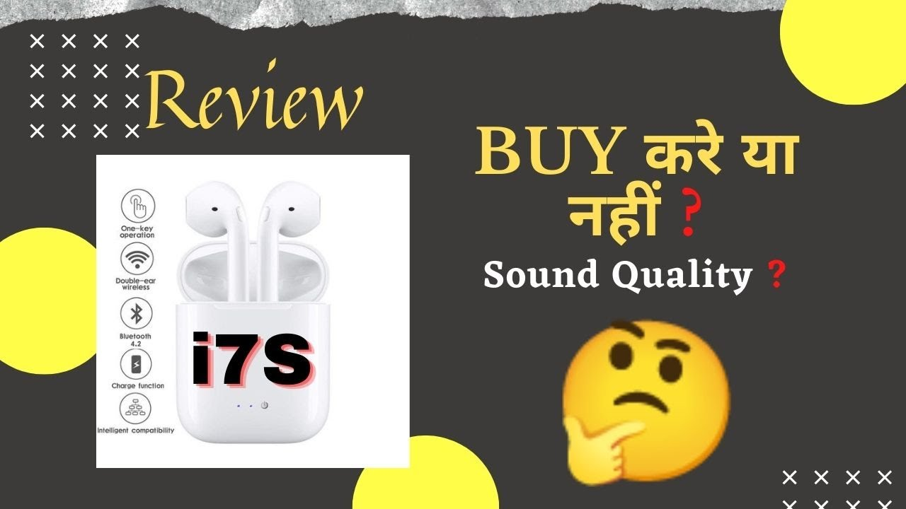 I7s Tws Pairing Both I7s Tws Pairing Both In Hindi I7 Tws Earbuds Pairing Both Youtube