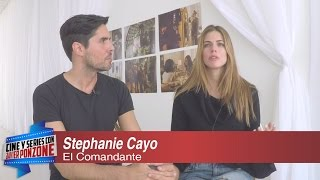 """Stephanie Cayo de """"EL COMANDANTE"""" con Javi Ponzone"""