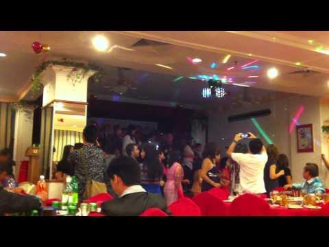 Resepsi Perkahwinan Hailey Robson & Dayang Christina: Poco Poco